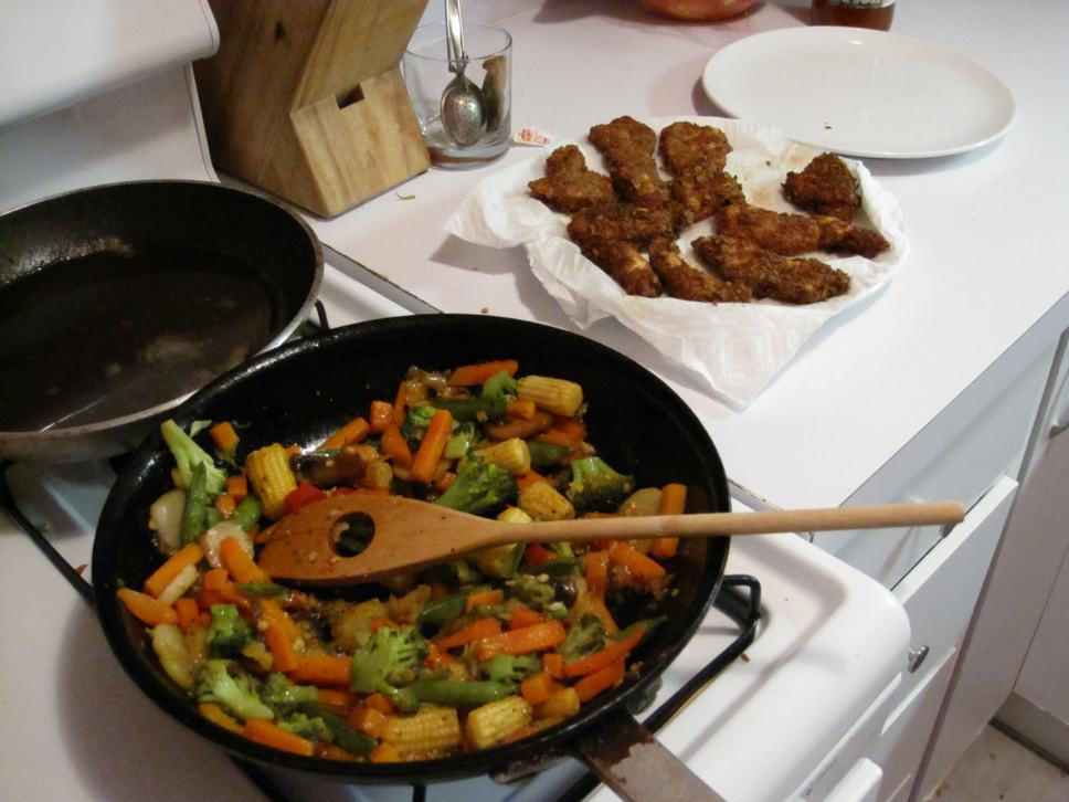 stir-fried