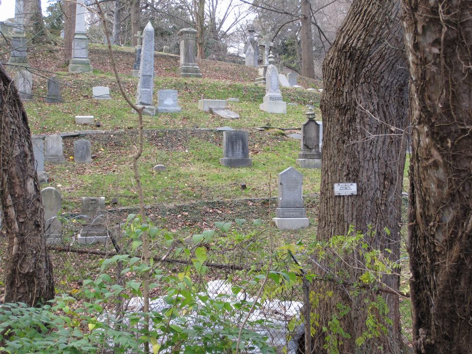 Mt. Zion cemetery @ Rock Creek