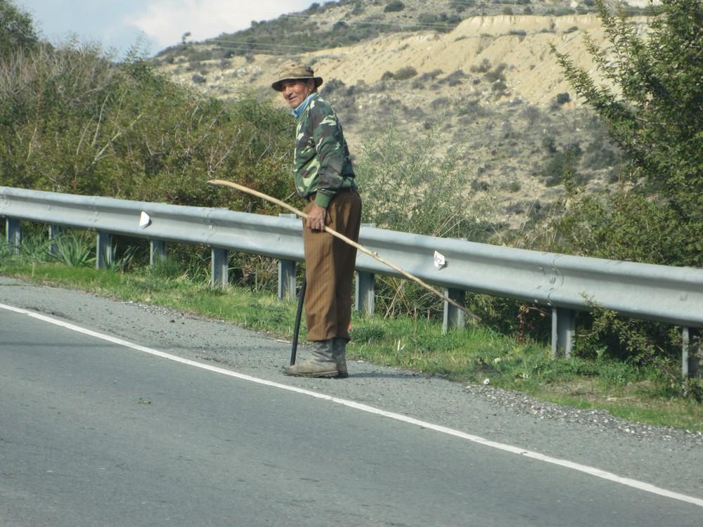 en rout to Paphos