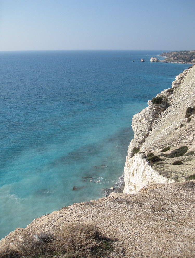 Aphrodite\'s birthplace - en rout to Paphos